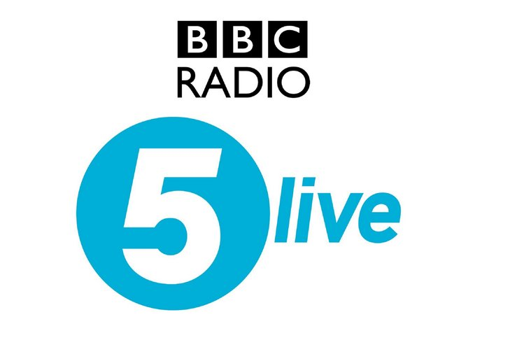 BBC Radio 5 Live Logo for Lesley Spellman Appearance to discuss Marie Condo Folding Method